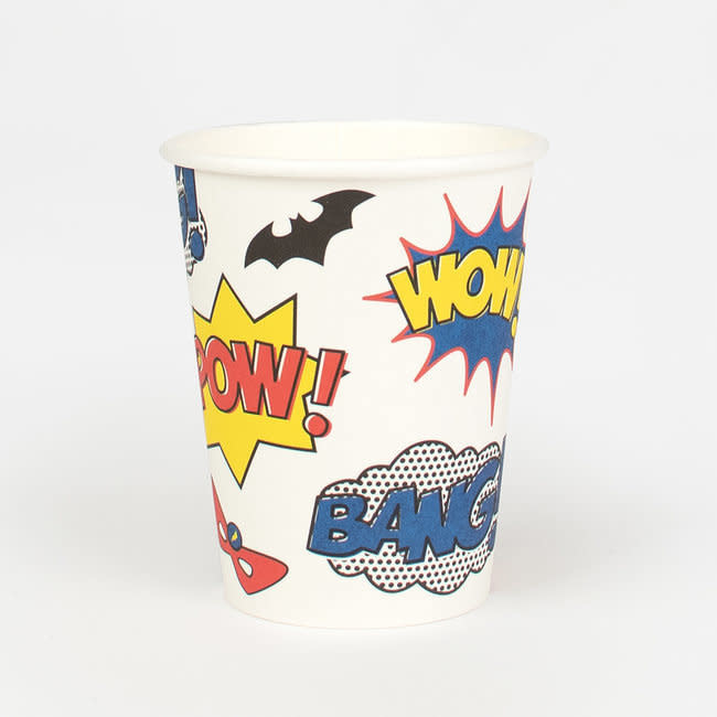 MY LITTLE DAY super hero paper cups