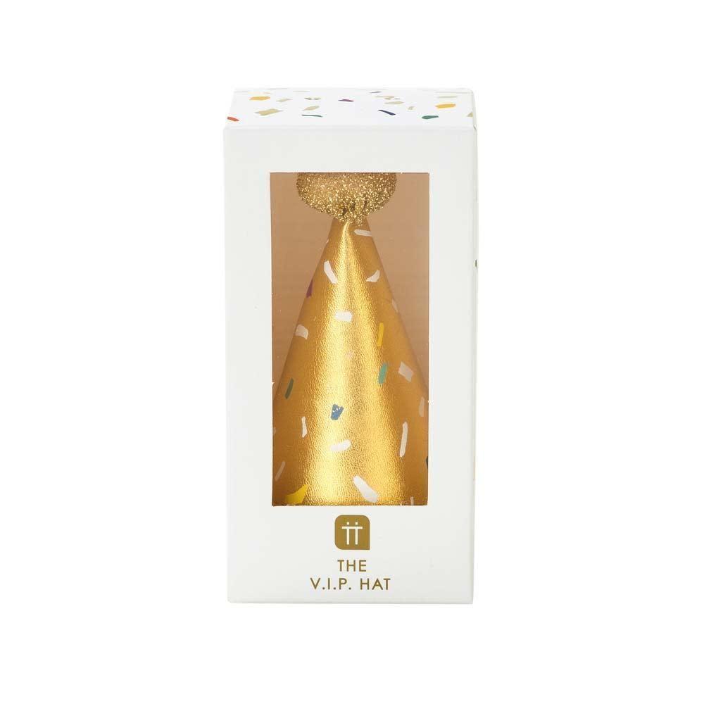 TT Luxe Gold Mini Hat