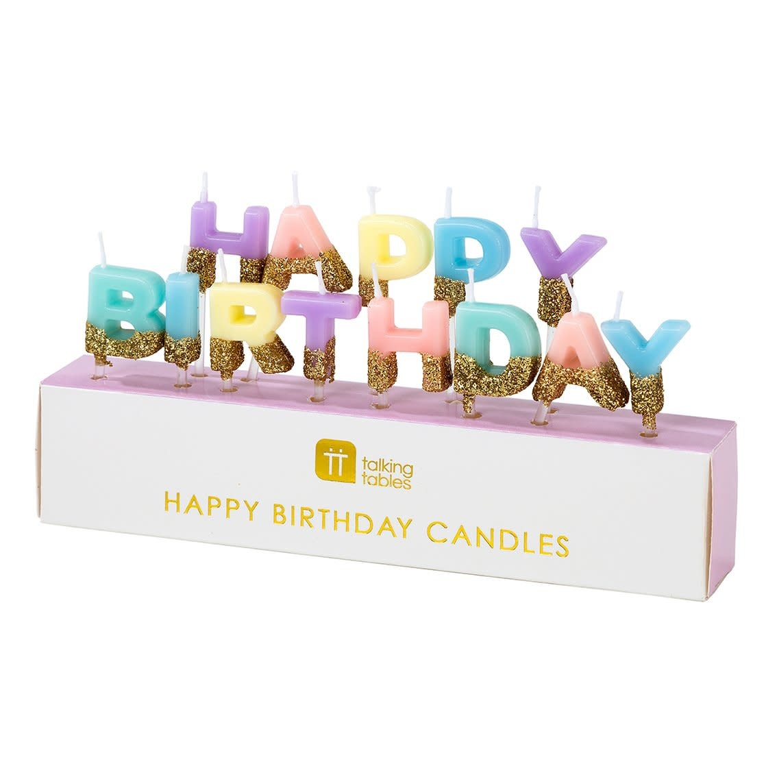 TT We Heart Birthdays Happy Birthday Candles