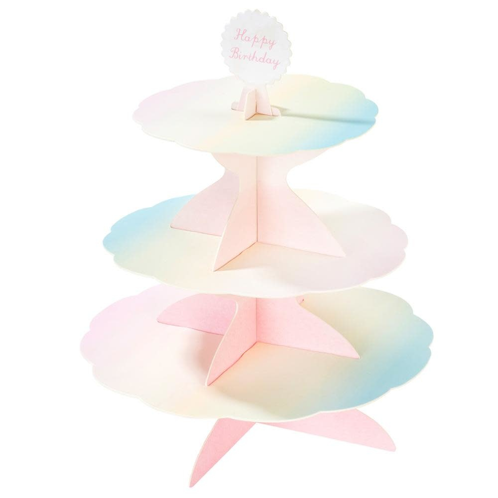 TT Pastel Cakestand with 4 toppers