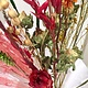 YAY Medium dried flowers bouquet cherry