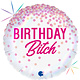SMP foil balloon birthday bitch 45 cm