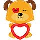 SMP remarkable puppy foil balloon 111 cm ( incl. black marker)