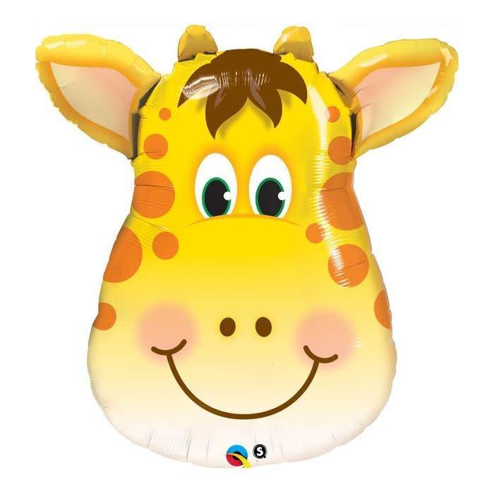 SMP giraffe head foil balloon 81 cm