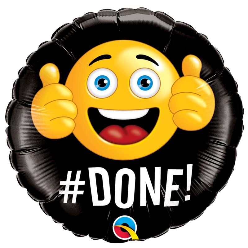 SMP #done! foil balloon 45 cm