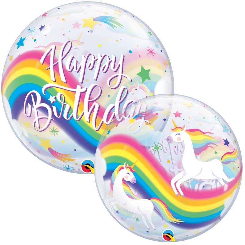 SMP unicorn bubble balloon 56 cm