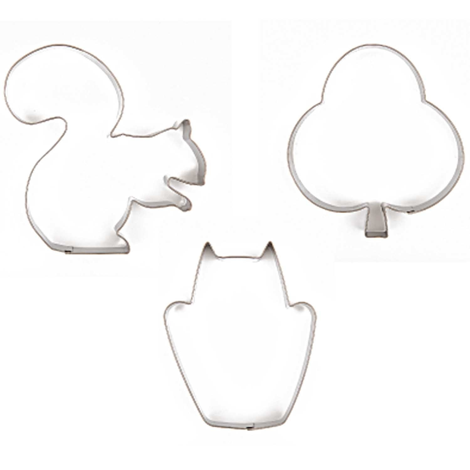 RICO COOKIE CUTTER SET FOREST
