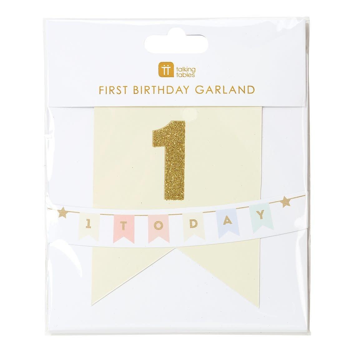 TT We Heart Birthdays 1 Today Garland