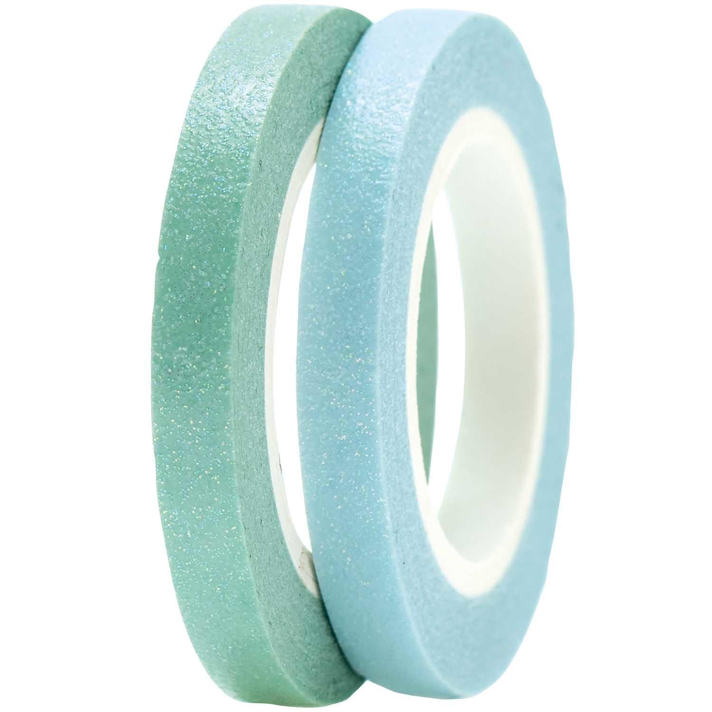 RICO TAPES SLIM, BLUE/GREEN FSC MIX