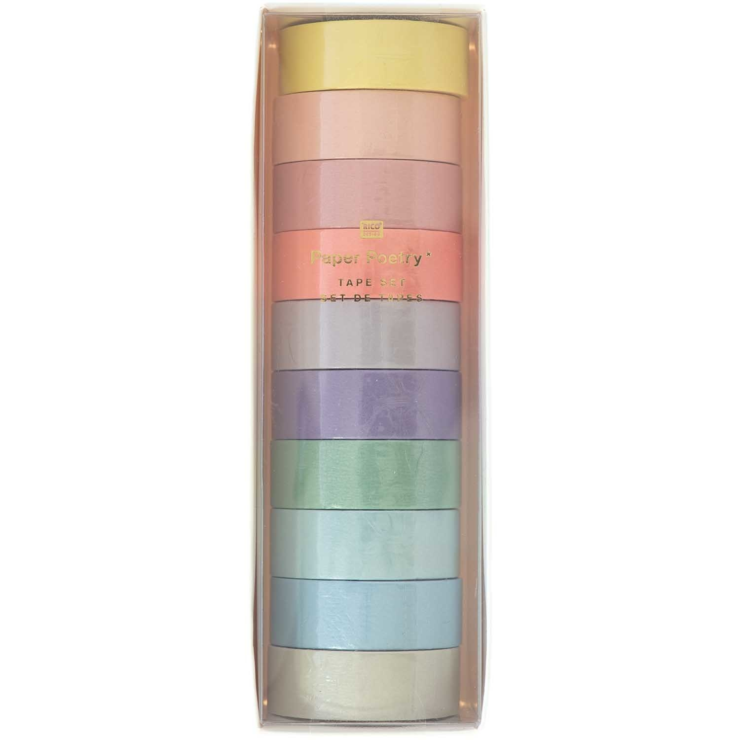 RICO TAPE SET, MAXI, PASTEL FSC MIX