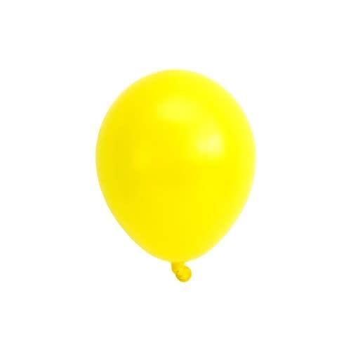 SMP yellow mini balloons 15 cm 10 x