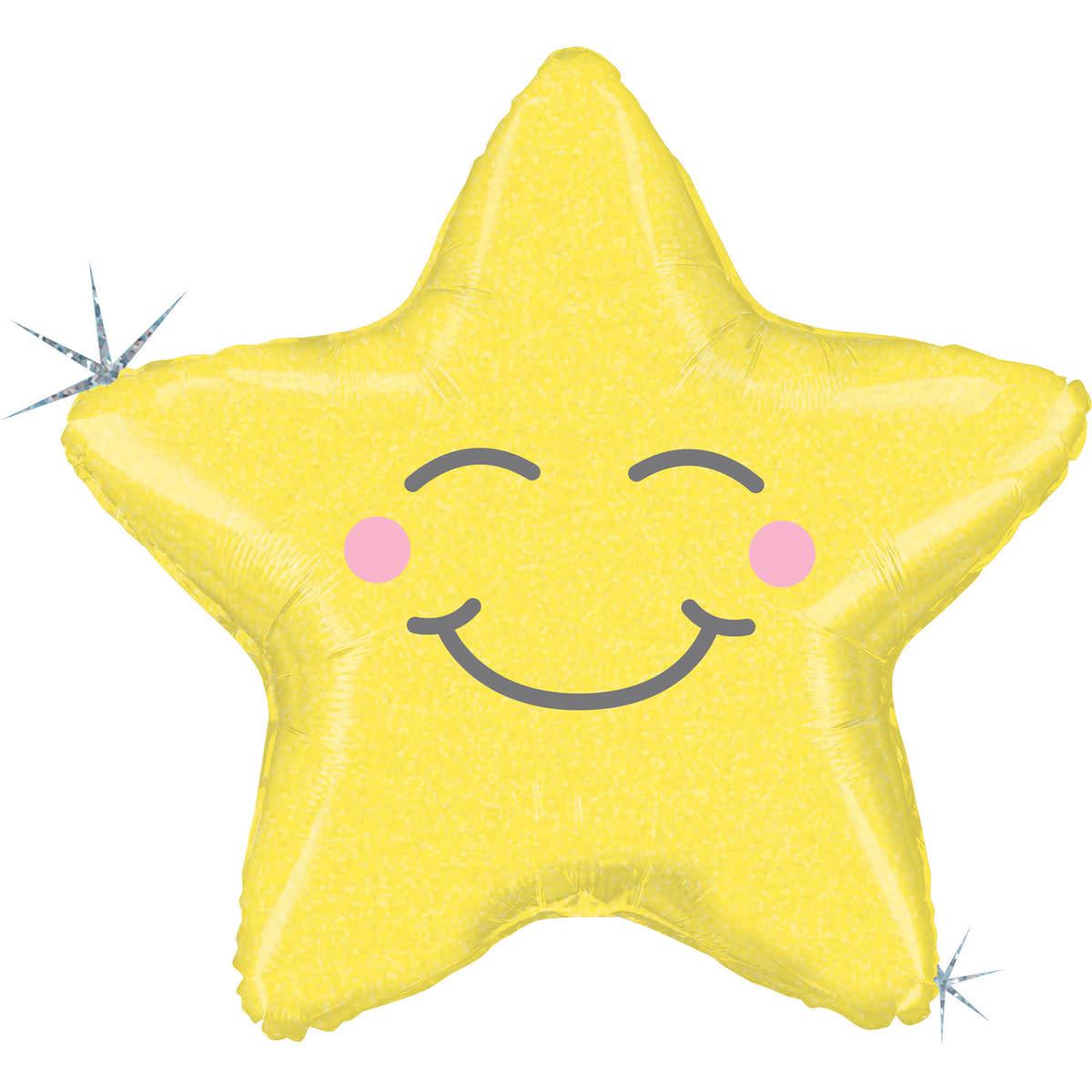 SMP chubby star foil balloon 66 cm