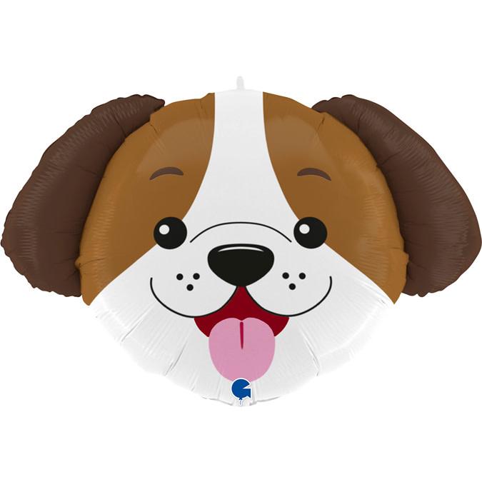 SMP dog head foil balloon 84 cm