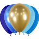 SMP 25 x mini latex balloons blue camaieu 12,5 cm 100% biodegradable