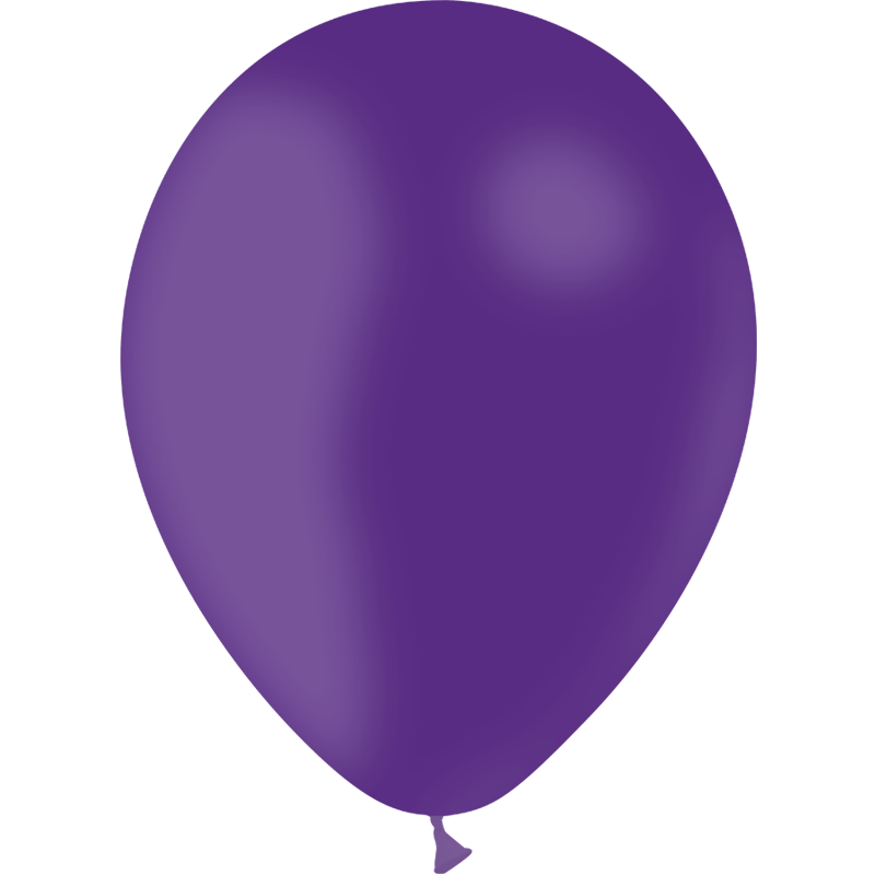 SMP 10 x purple latex balloons 100% biodegradable