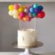 SMP 25 x mini latex balloons pastel glow 12,5 cm 100% biodegradable