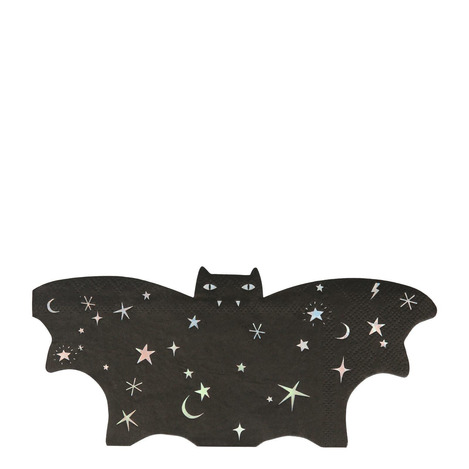 MERIMERI Sparkle bat napkins