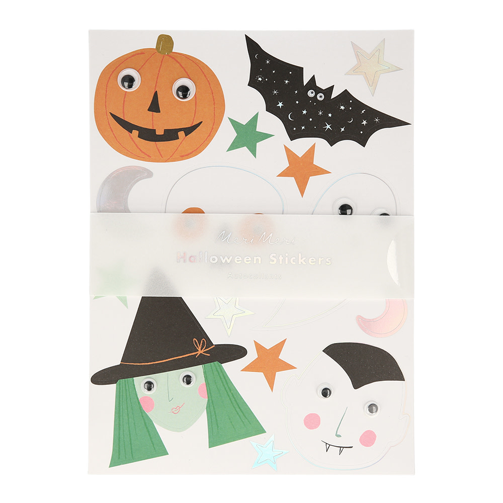 MERIMERI Halloween motif sticker sheets