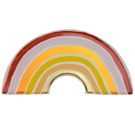 AF rainbow blush plates 8 pieces 28X15CM
