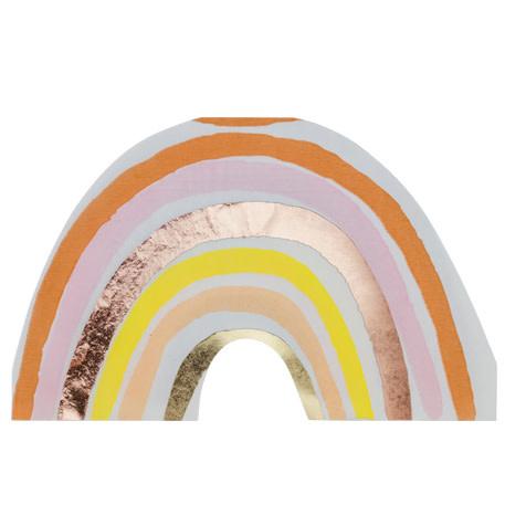 AF rainbow blush napkins 16 pieces 33X20.5CM