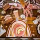 AF rainbow blush placemats 4 pieces 40X30CM