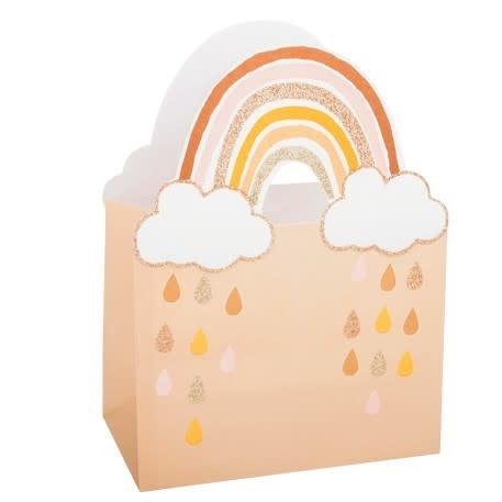 AF rainbow blush gift bags 4 pieces 12.5X10X7CM