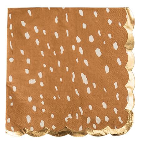 AF deer napkins 16 pieces 33X33CM