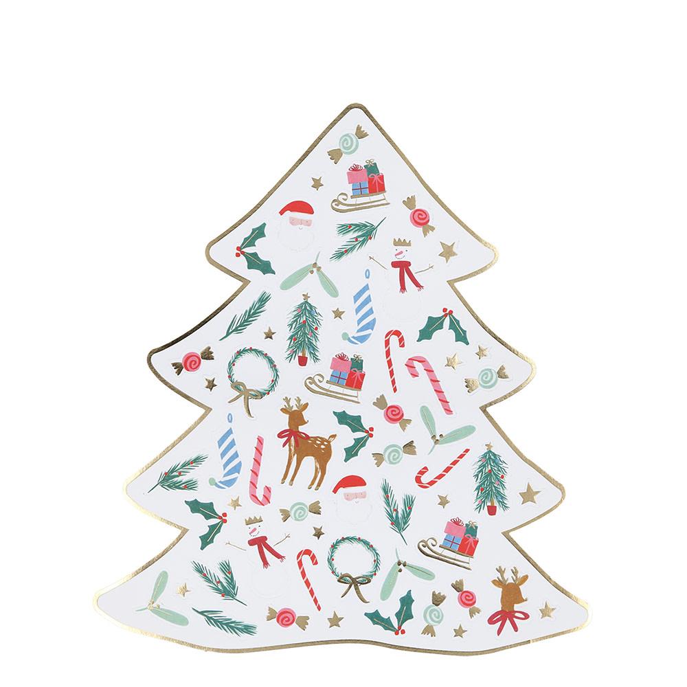 MERIMERI Christmas mini sticker sheet