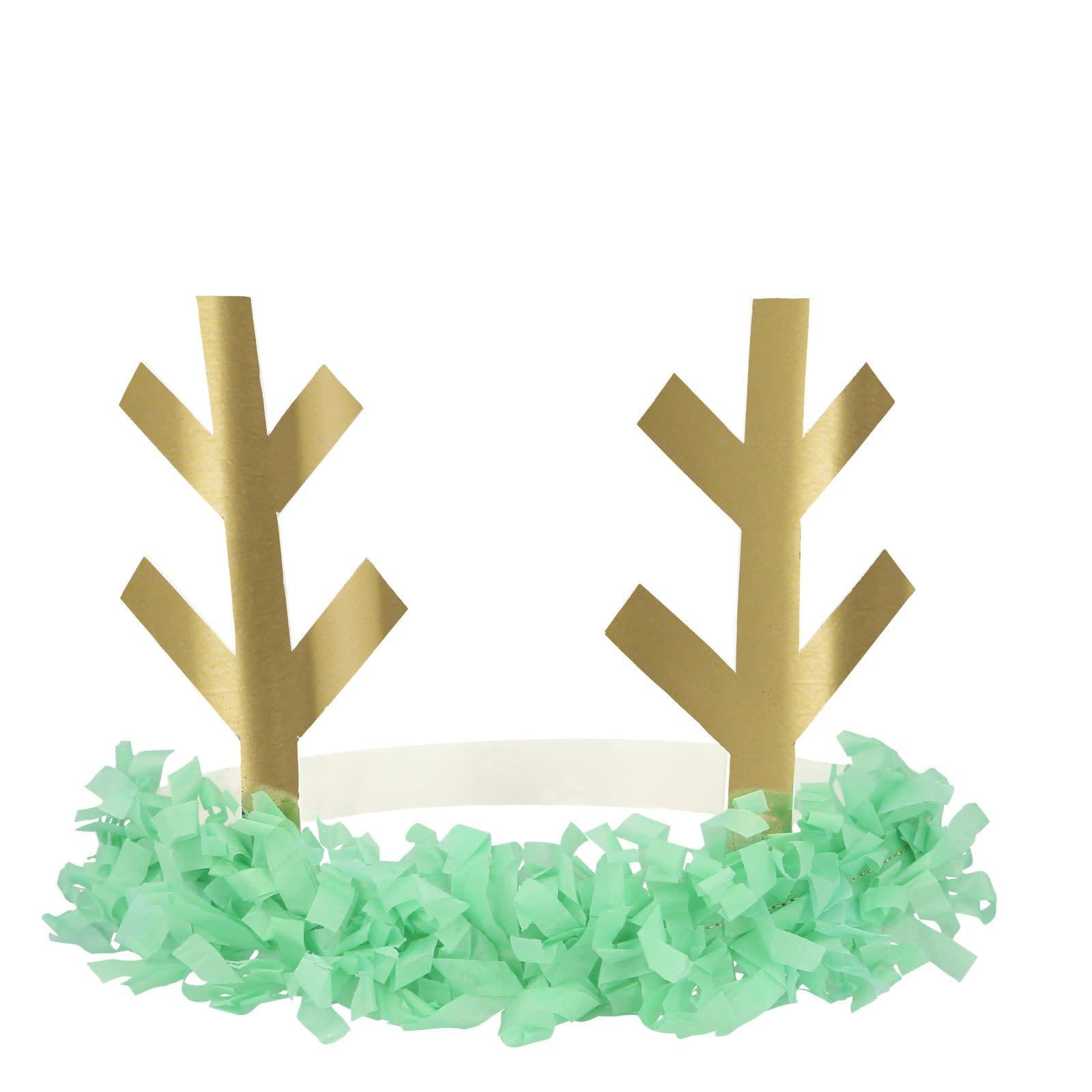 MERIMERI Reindeer fringe antler headbands