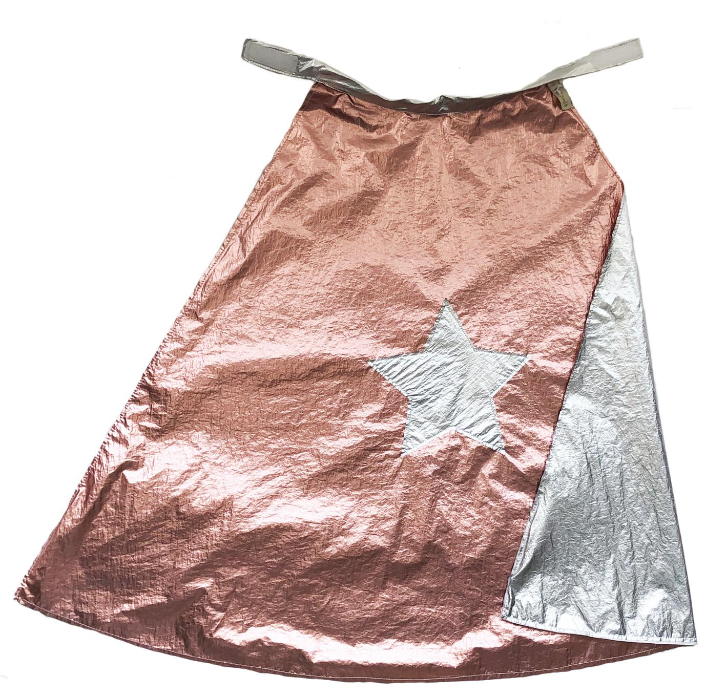 RATATAM hero cape pink silver 1 size