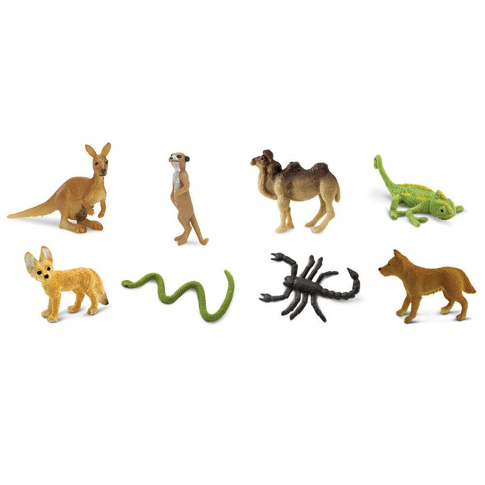 SAFARI desert - mini animals 8 pieces