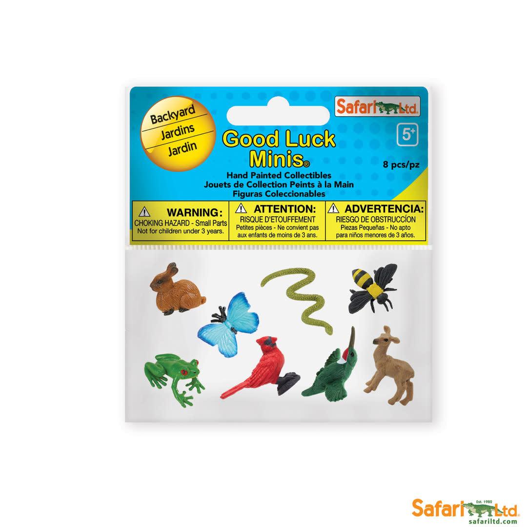 SAFARI backyard - mini animals 8 pieces