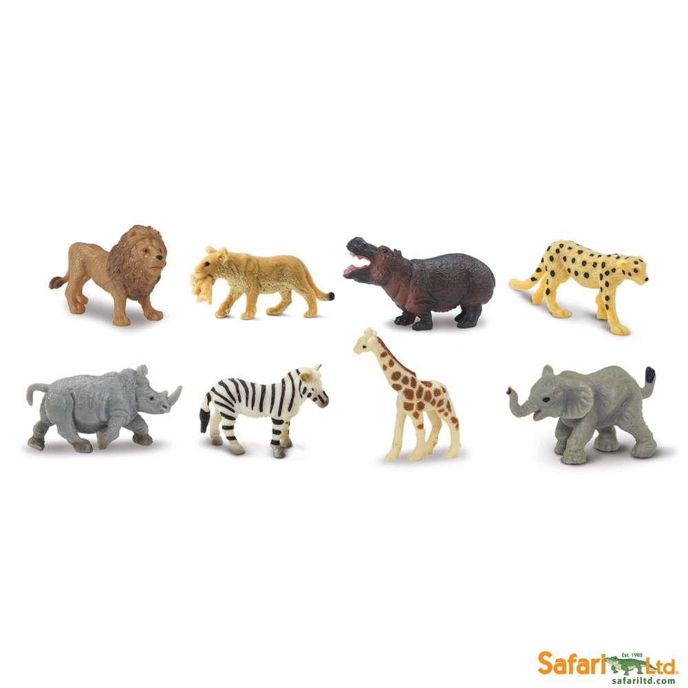 SAFARI savanna- mini animals 8 pieces
