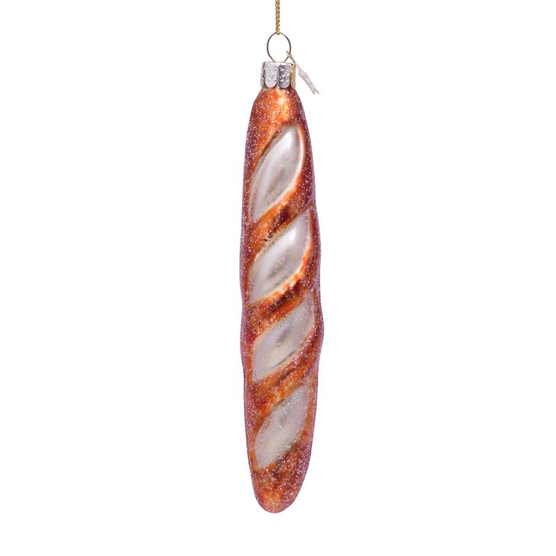VS Ornament glass french baguette H15cm