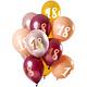 FT Mix balloons blush 18 year 30 cm 12 x