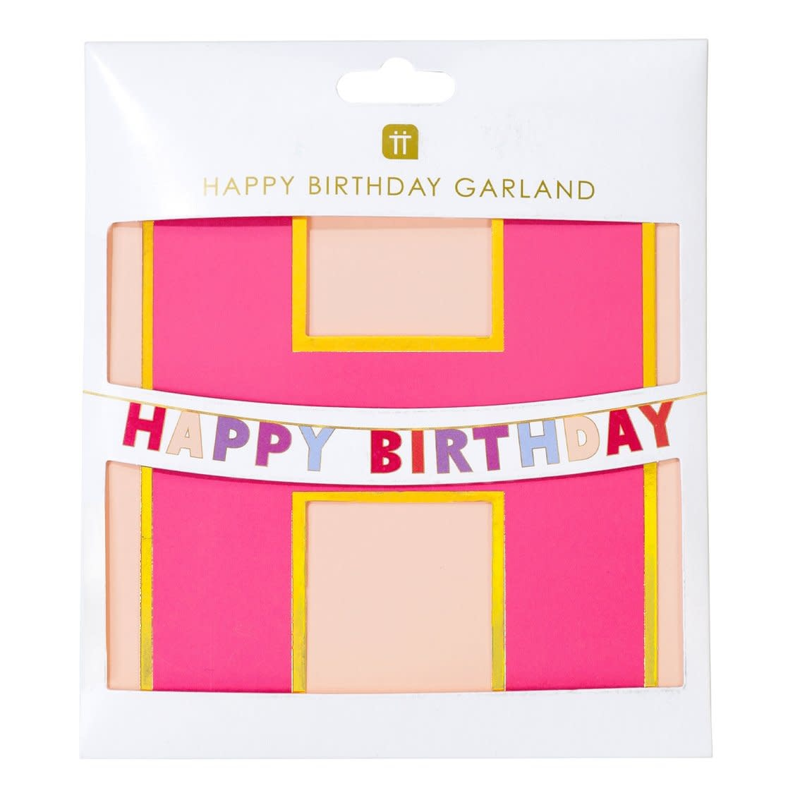 TT Rose Happy Birthday Garland