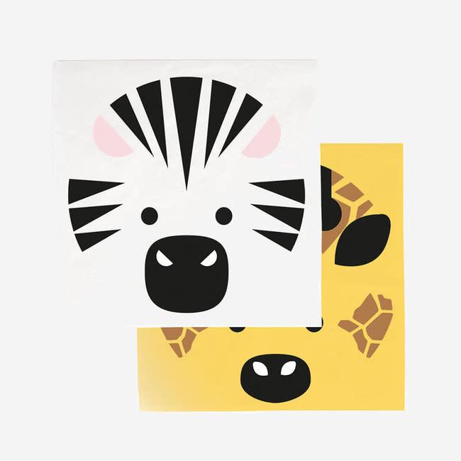 MY LITTLE DAY paper napkins - mini safari
