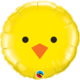 SMP baby chick circle foil balloon 45 cm