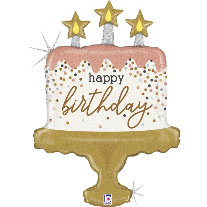 SMP birthday cake confetti 84 cm