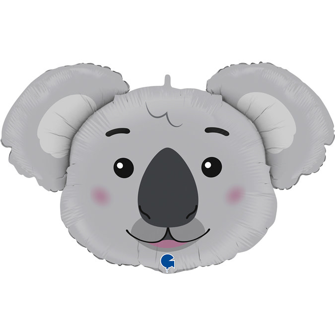 SMP koala head foil balloon 93 cm