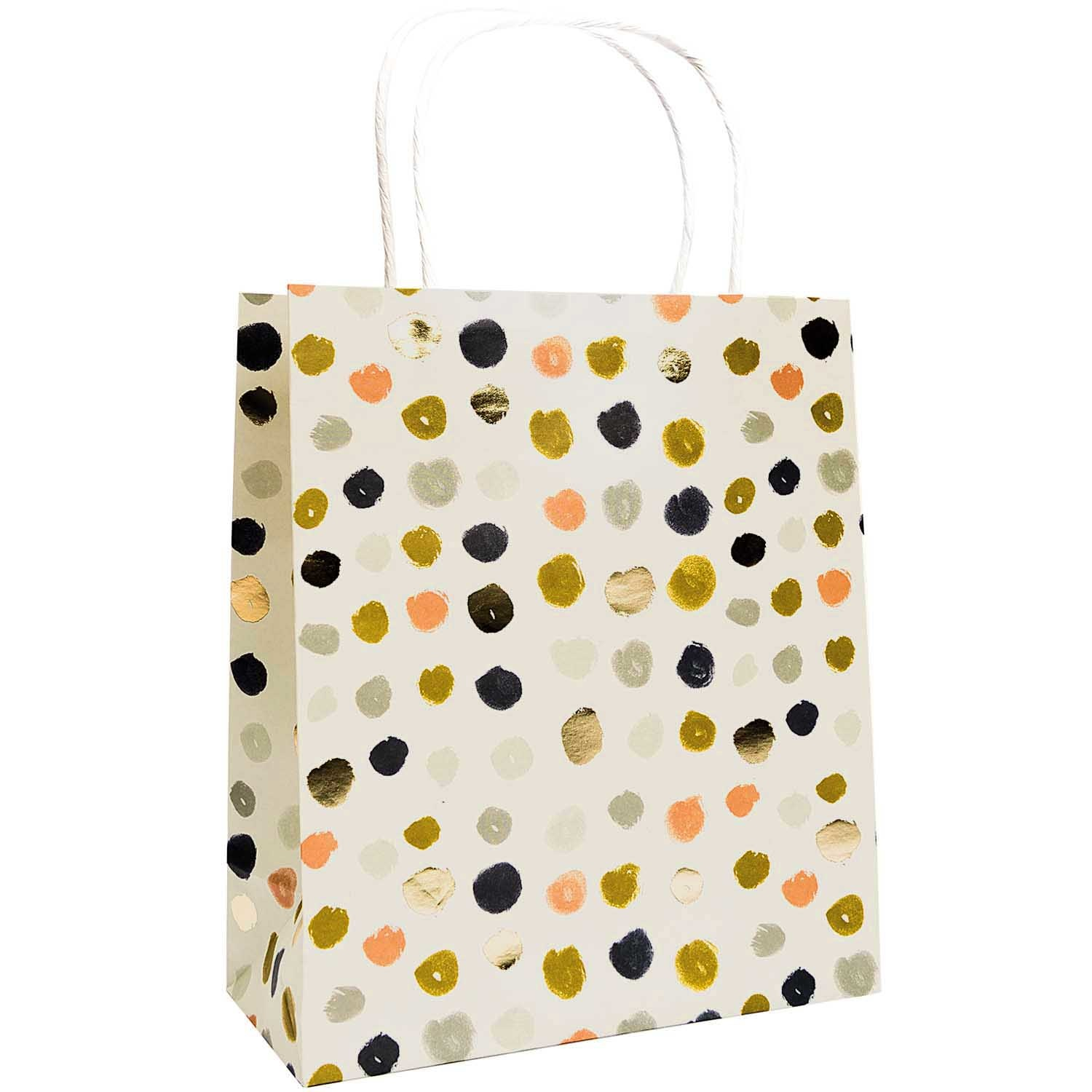 RICO PAPER BAG,CRAFTED,BLUE FSC MIX 2 x