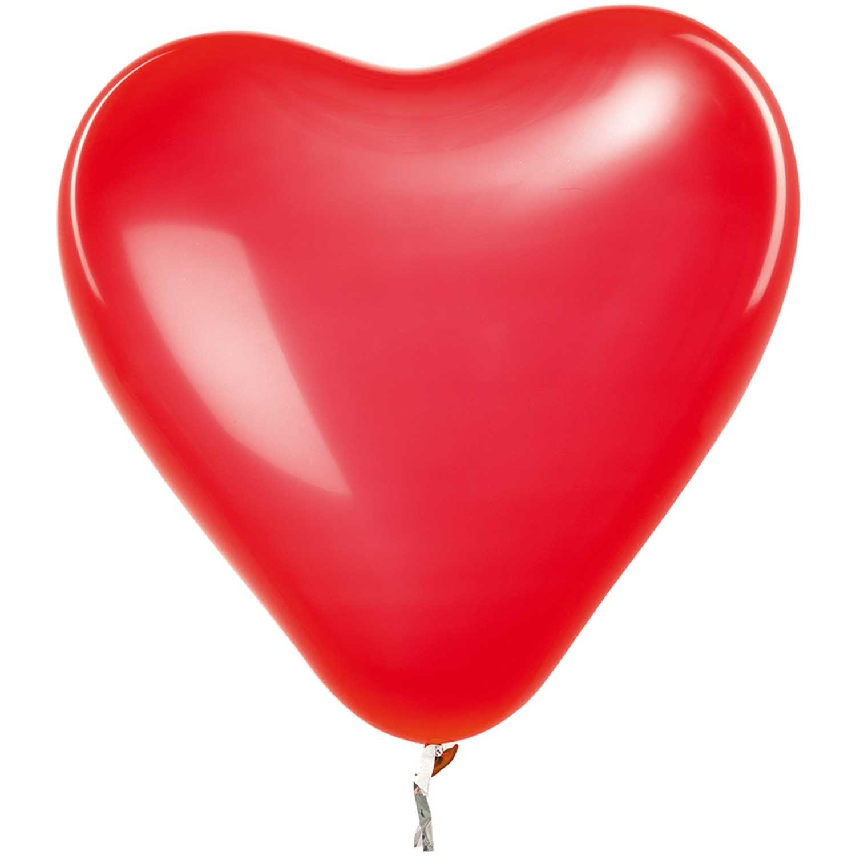 RICO BALLOONS HEART RED 30 cm 12 x