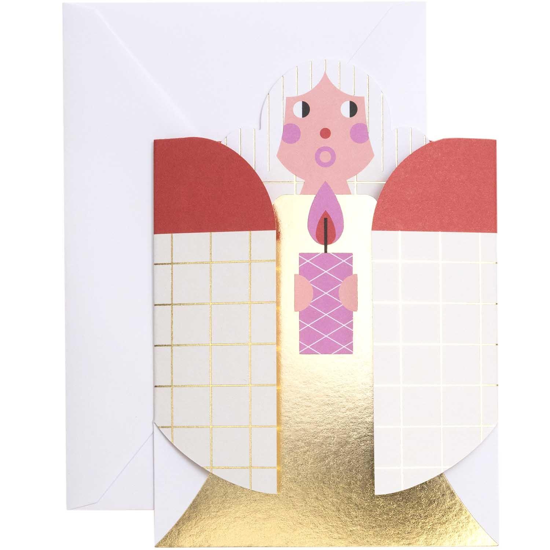 RICO 3D CARD, XMAS IN AIR FSC MIX