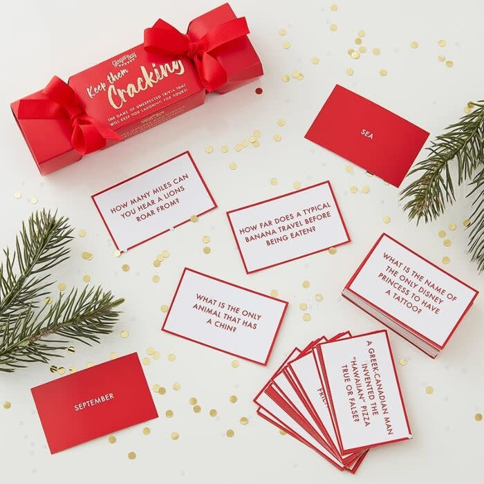 GINGERRAY CHRISTMAS TRIVIA GAME FOR ADULTS