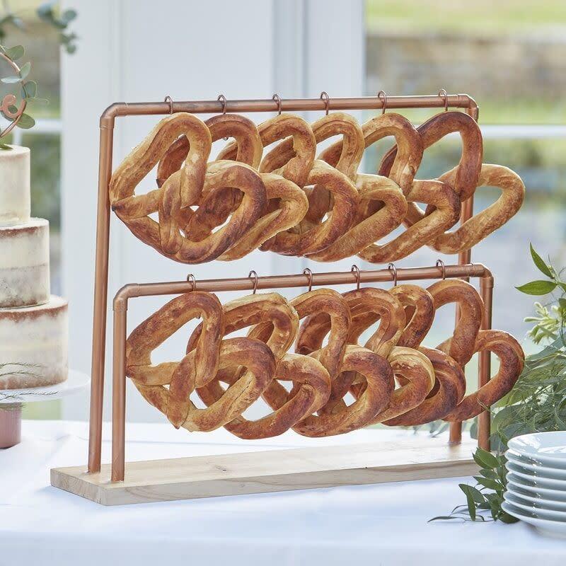 GINGERRAY Copper (Pretzel) Display Stand