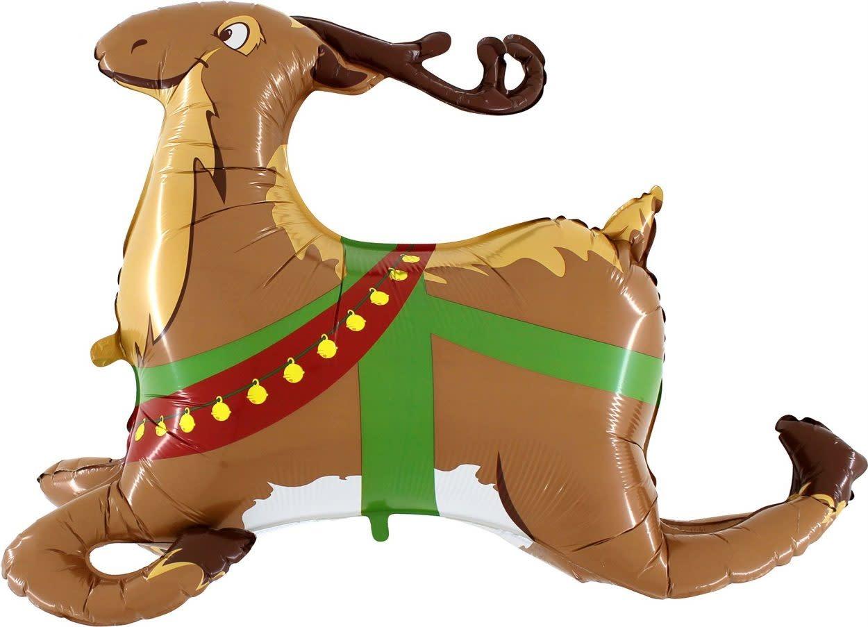 SMP Reindeer 3 d Foil Balloon 109 cm