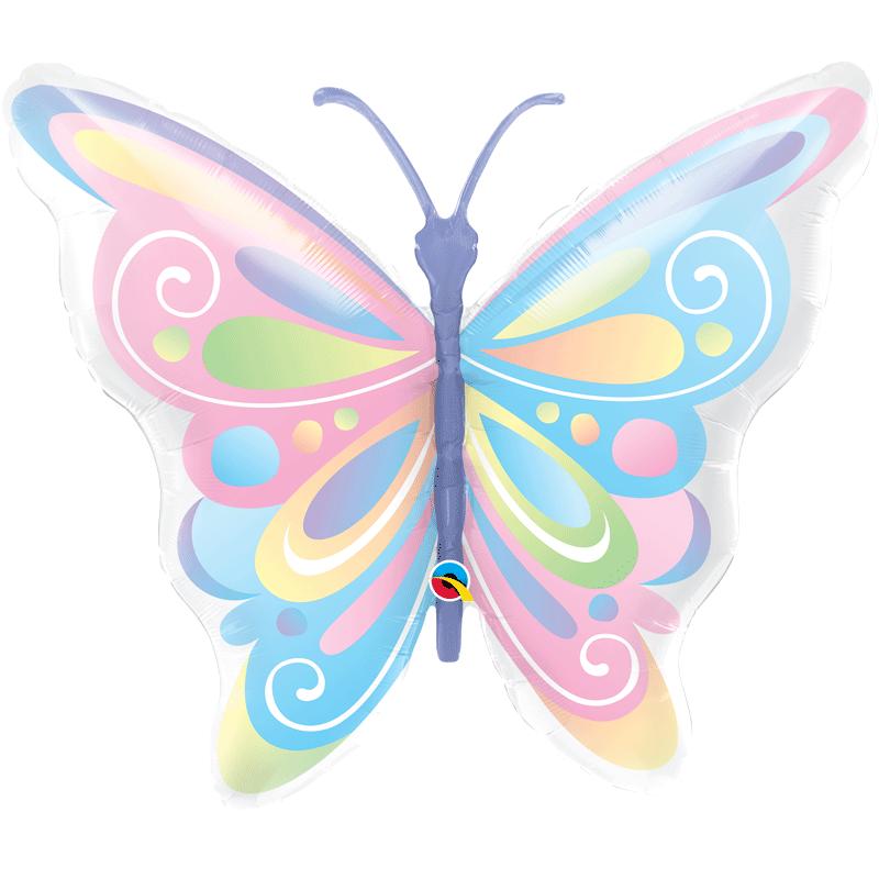 SMP Beautiful butterfly foil Balloon 101 cm