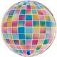 SMP globe strobo foil balloon 4d 38 cm