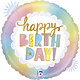 SMP opal birthday foil balloon 45 cm