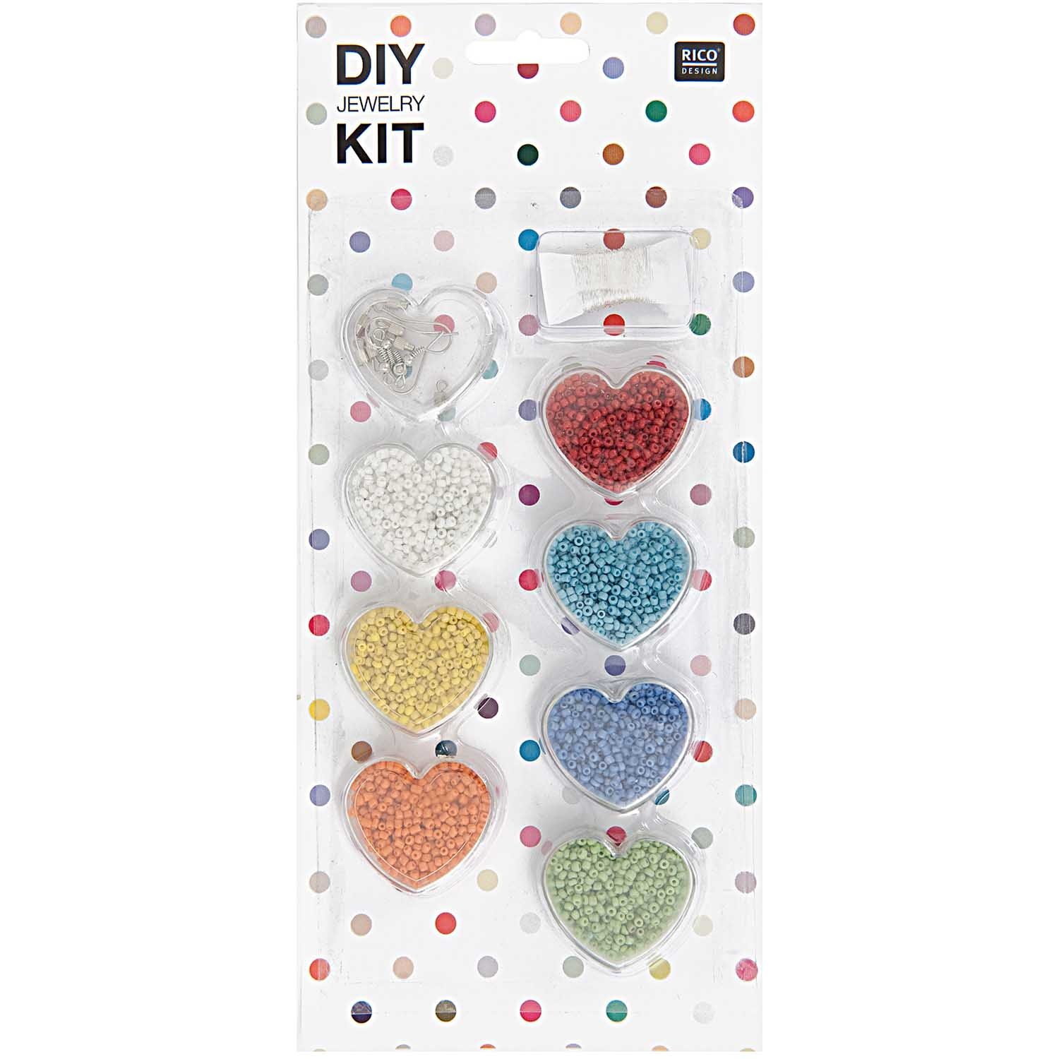 Rico NAY DIY JEWELRY KIT MULTICOLOR OPAL 12/27/1,5CM